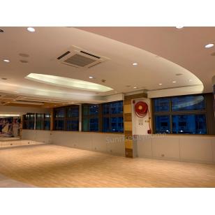 會所Gym room擴大及裝修